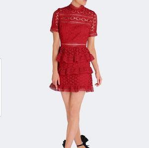 BEAUTIFUL Self Portrait Star Panel Dress Size 8 US